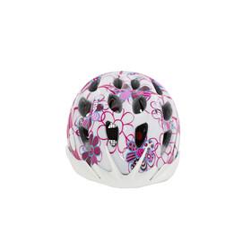 Alpina Rocky Helmet Kids pink-lightblue flowers